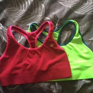 2 sports bras from Champion